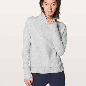 Lululemon Size 4 Stress Less Pullover Grey